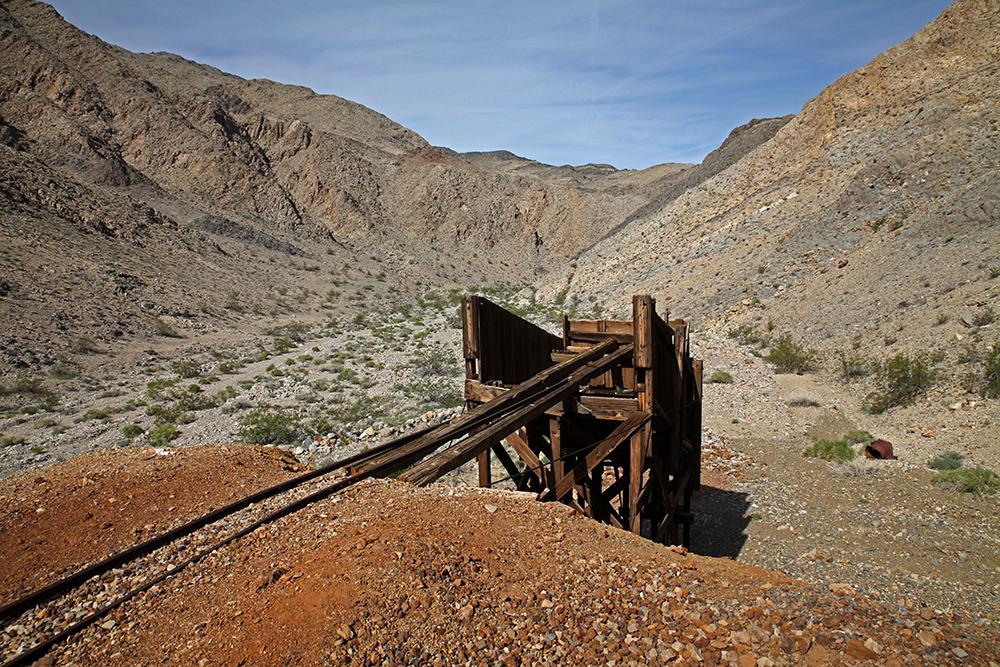 Rostige Reste: Der Goldrausch brachte im 19. Jahrhundert Minenarbeiter ins Tal des Todes.