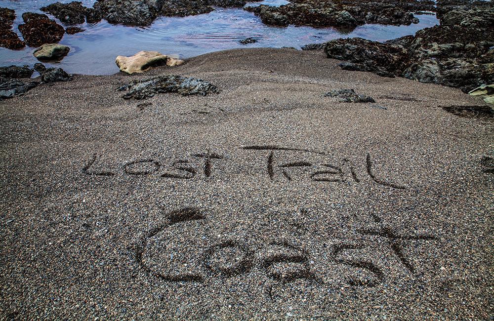 """""""Lost Coast Trail""""? Küste des Verlorenen Trails passt besser."""