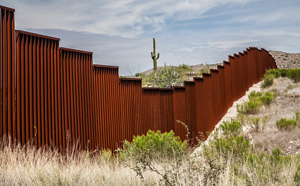 Donald Trump wants to fortify this border fence even further if he is elected president.[/caption]  [caption id=